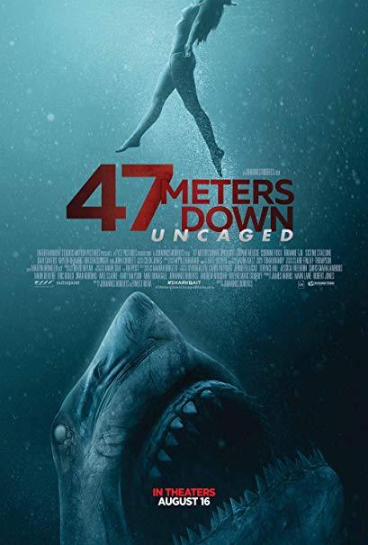 47 მეტრით დაბლა: გალიიდან გამოშვებული / 47 Meters Down: Uncaged