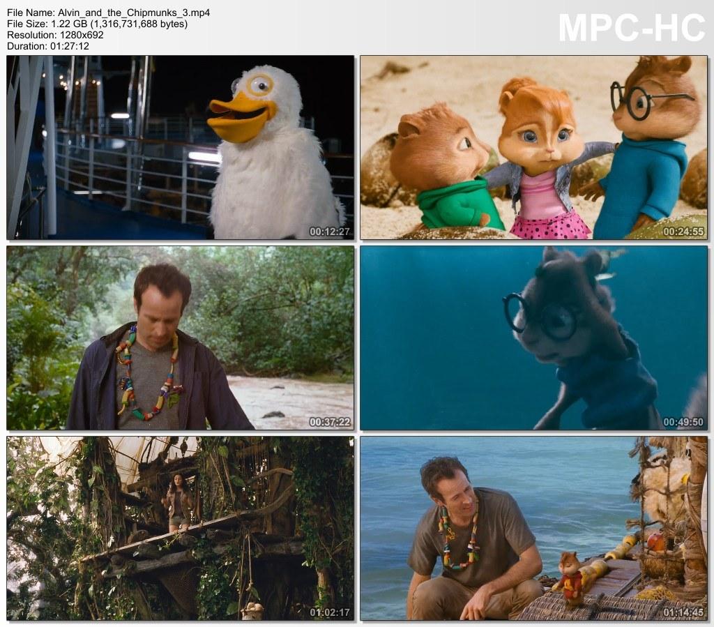 ელვინი და თახვები 3 Alvin and the Chipmunks: Chipwrecked