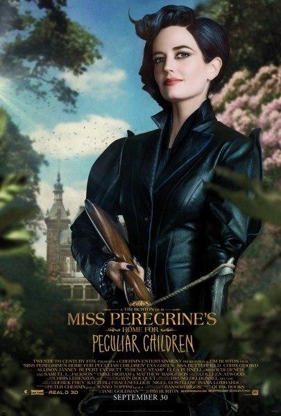 მის პერეგრინის სახლი უჩვეულო ბავშვებისთვის / Miss Peregrine's Home for Peculiar Children