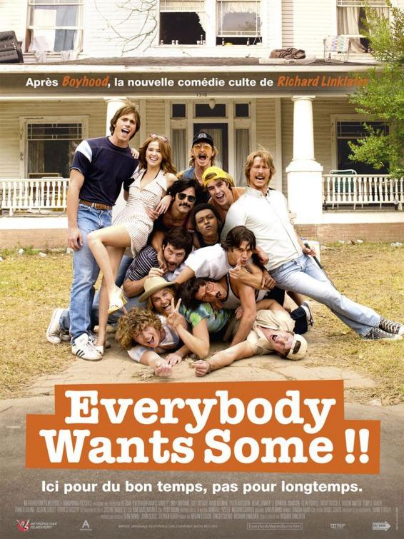 Everybody Wants Some!!/ყველას უნდა ვიღაც