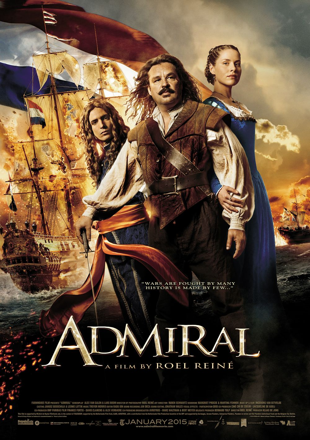 Michiel de Ruyter (Admiral) / admirali / ადმირალი