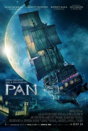 პენი: მოგზაურობა ნევერლენდში / Pan