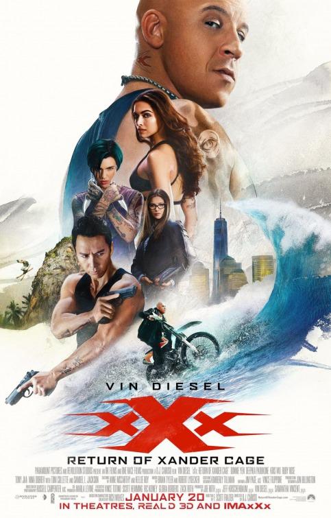 სამი იქსი: ქსანდერ კეიჯის დაბრუნება / xXx: Return of Xander Cage